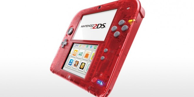 Nintendo Reveals Transparent 2DS