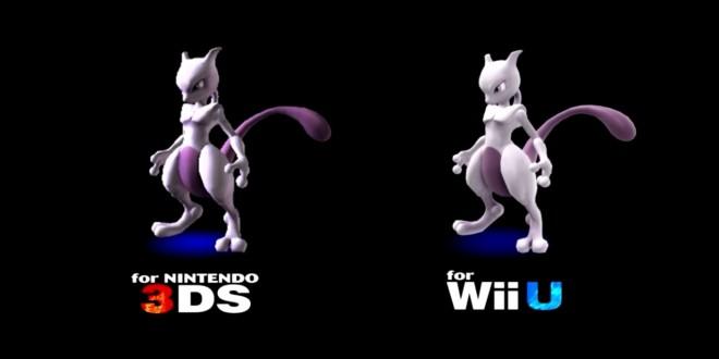 Mewtwo DLC for Smash Bros Purchasable