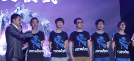 Team Newbee manages to win the IeSF World Championship