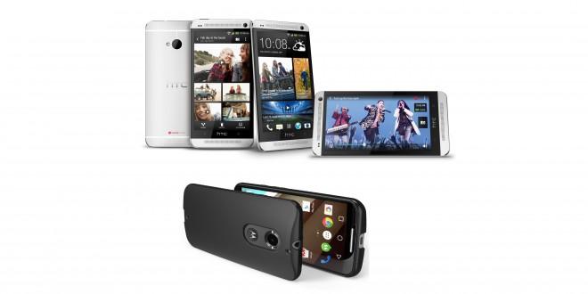 HTC One M7 vs Moto X 2014: last year vs this year