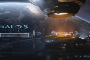 Halo 5 Beta Menu screen has now been seen.