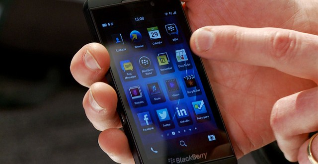 Blackberry has a new touchscreen-only smartphone in the works