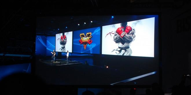 Street Fighter V announced