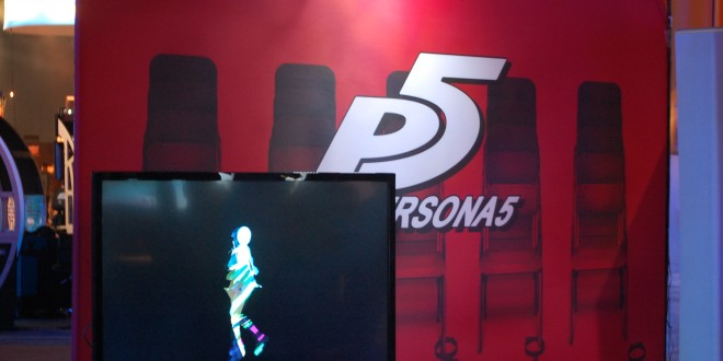 Persona 5 only present as a banner