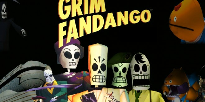 Grim Fandango Remastered release date Early 2015