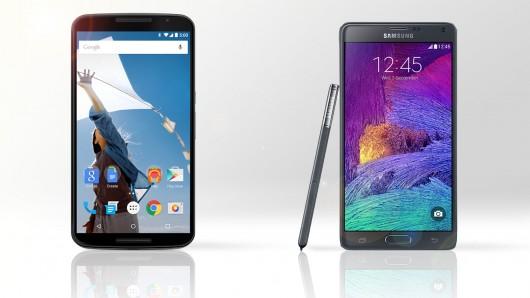 Motorola-Nexus-6-vs-Samsung-Galaxy-Note-4-specs-price-Android