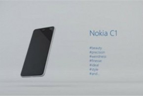 The Nokia C1 will be the company's first Android smartphone