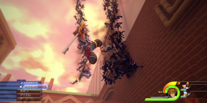 New Kingdom Hearts III Footage Shown
