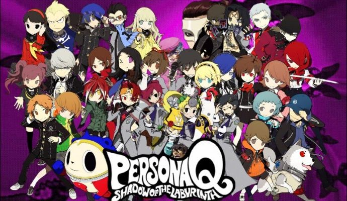 Persona Q Shadow of the Labyrinth -  Top 5 handheld games
