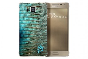 Samsung Galaxy Alpha snakeskin limited edition announced