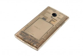 FX0 is the transparent Firefox OS phone made by LG