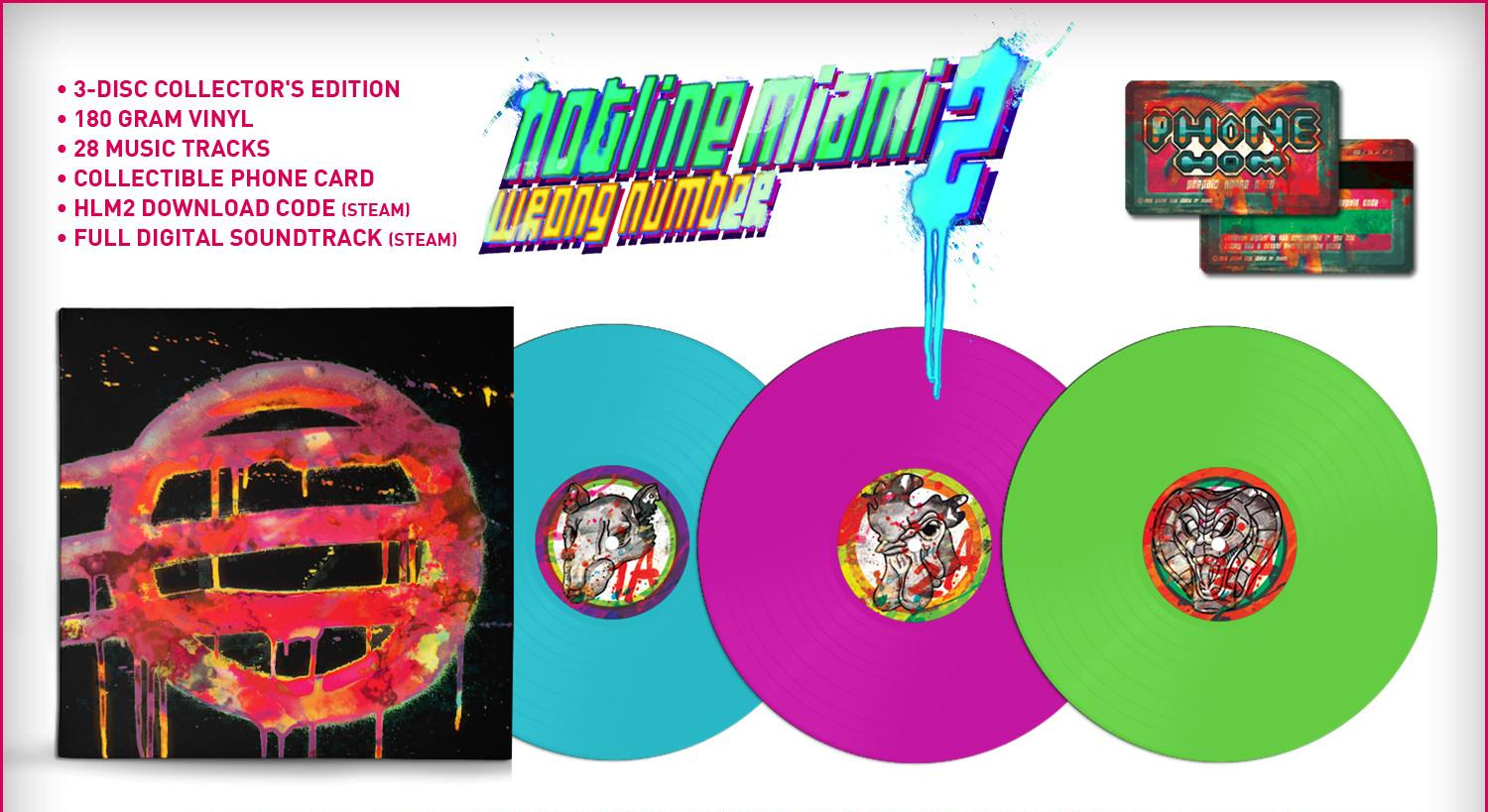 Hotline Miami 2 Wrong Number Collectors Edition Features