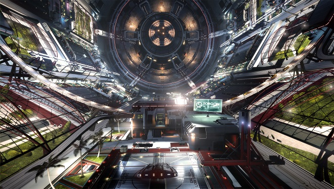 Elite: Dangerous Inside a Starport