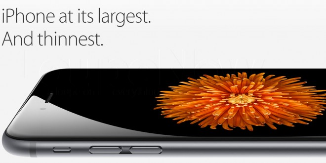 The iPhone 6s larger size appeals to consumers