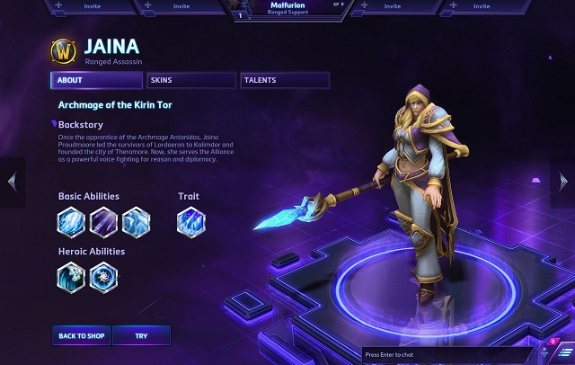 Heroes Of The Storm Welcomes Jaina Proudmoore Today