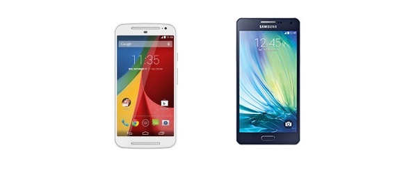 Galaxy A5 vs Moto G - specs, features, price compared
