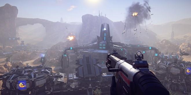 PlanetSide 2 Update Includes Auto-Turrets