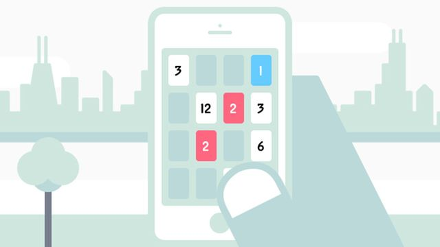 Threes - iOS and Android puzzle game