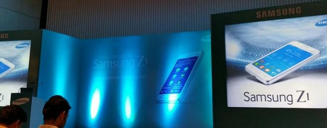 Samsung Z1 showcased in new set of leaked photos