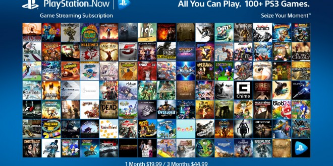 PlayStation Now subscription prices have been released and will begin on January 13