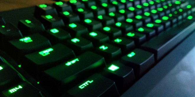 A comparison of three gaming keyboards