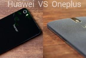 OnePlus One vs Huawei Honor 6 Plus comparison