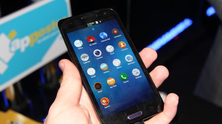 Samsung Z1 design
