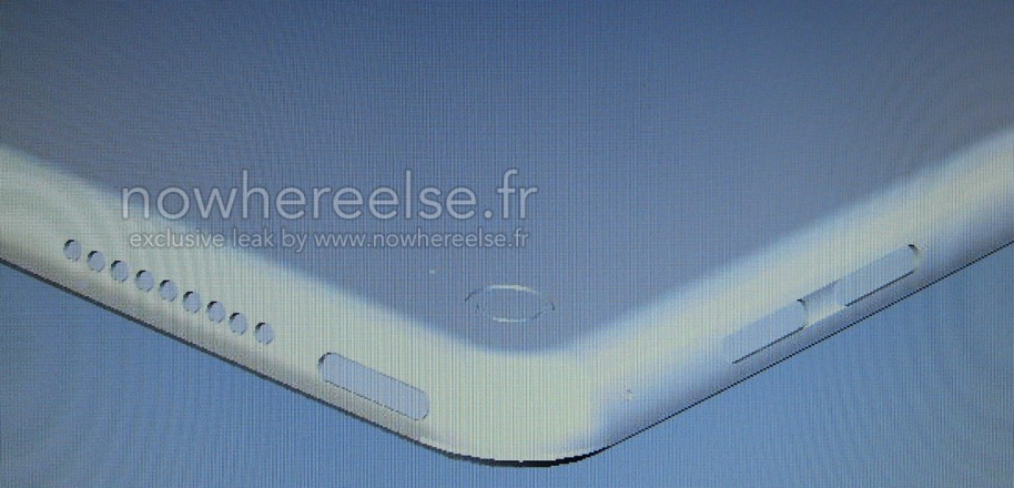 A leaked image of the iPad Pro.
