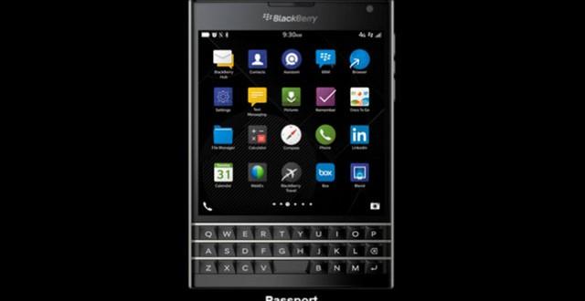 Blackberry Passport OS update