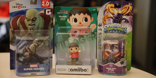 How amiibo, Skylanders, and Disney Infinity figures stack up against each other