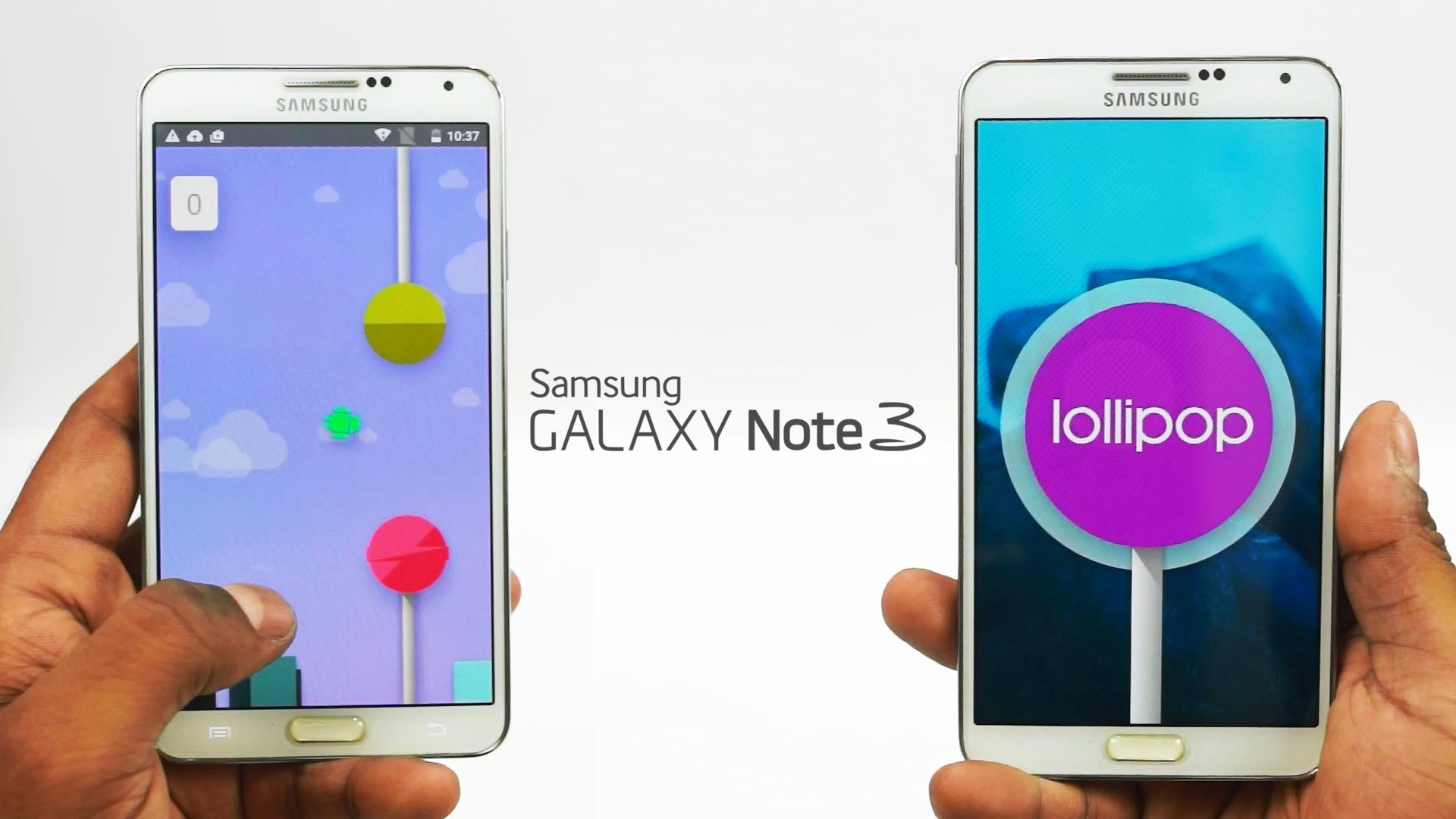 Galaxy Note 3 Android Lollipop update officially rolling out