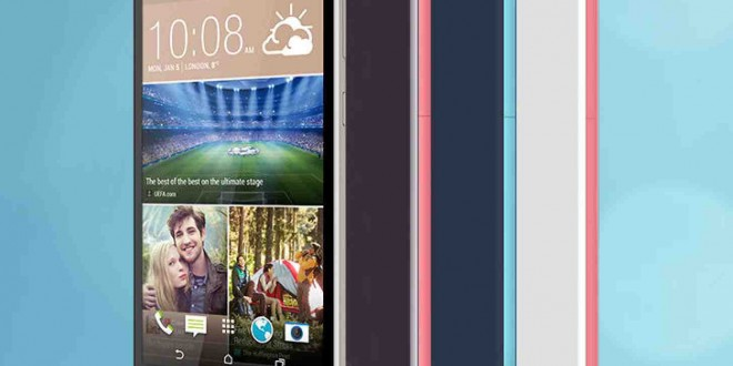 The new HTC Desire 826 runs on Android Lollipop from the get-go