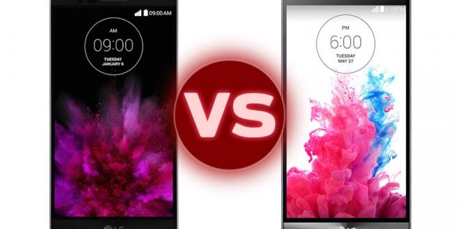 LG G Flex 2 vs LG G4 comparison