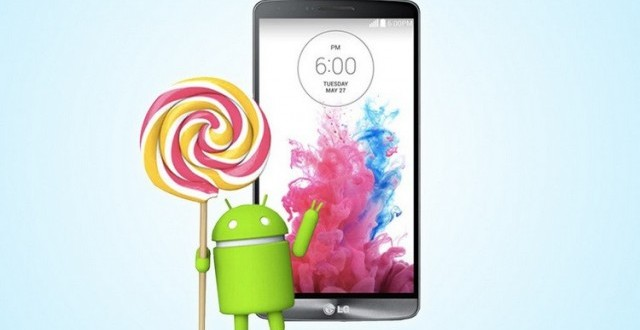 LG G3 getting Android 5.0 Lollipop in the US