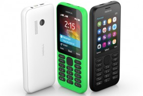 Microsoft announced a new feature phone entitled Nokia 215