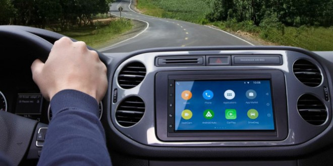 Parrot RNB6 car infotainment system can pair with both Android Auto and Apple CarPlay