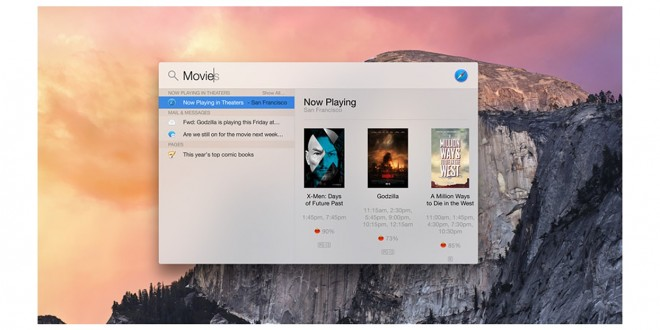 A privacy glitch in OS X reveals sensitive user data when Spotlight searches are performed