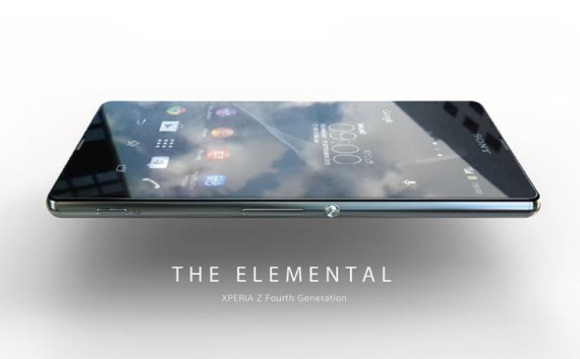 Sony Xperia Z4 leaked design