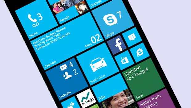 Windows Phone interface