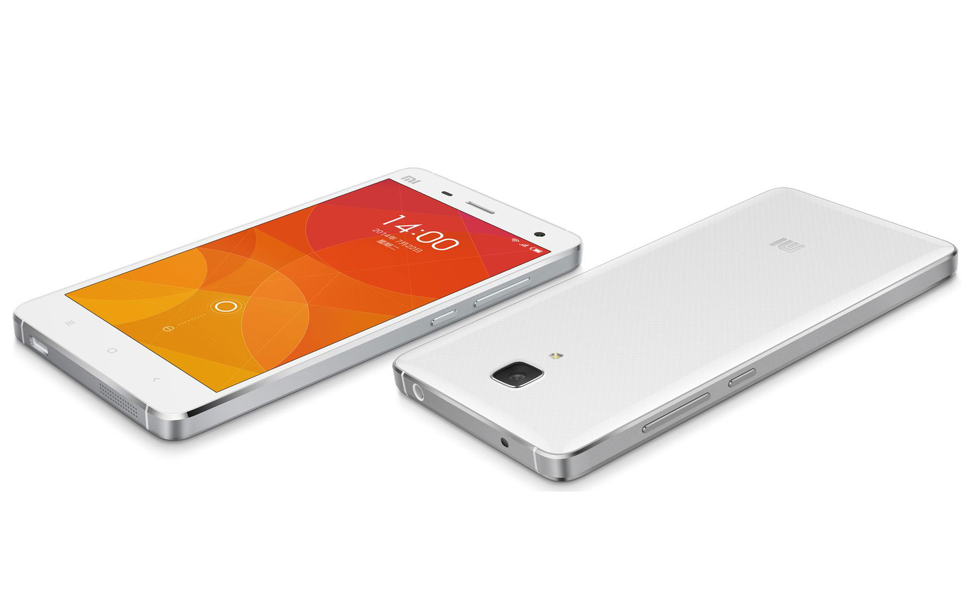 Xiaomi Mi4 White The Xiaomi Mi4 is the