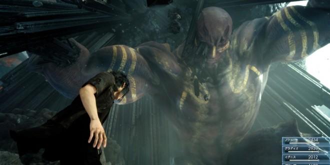 Final Fantasy XV Noctis Titan