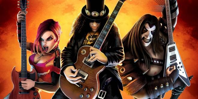 Guitar Hero game
