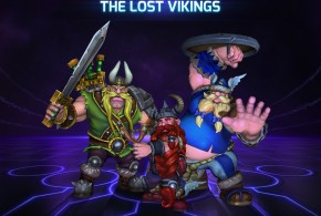 Lost Vikings Splash Art