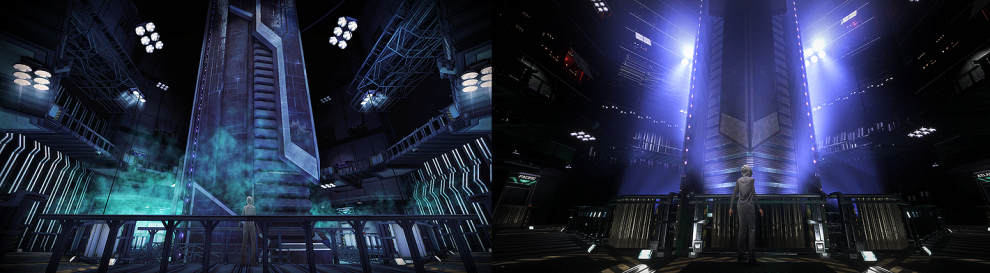 Republique comparison shots
