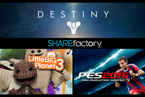 SHAREfactory PlayStation 4 Sony