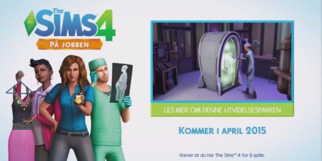 The Sims 4 At Work expansion screenshot