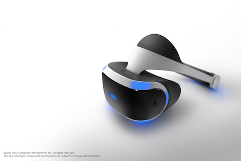 Project Morpheus V2 virtual reality headset