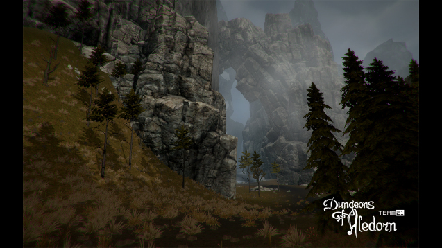 Dungeons of Aledorn features a first person exploration mode.