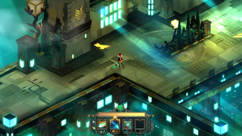 Transistor, an isometric action-rpg.