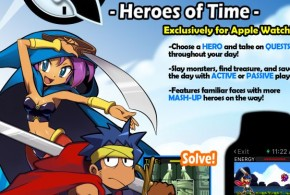 Exclusive Apple Watch game - Heroes of Time